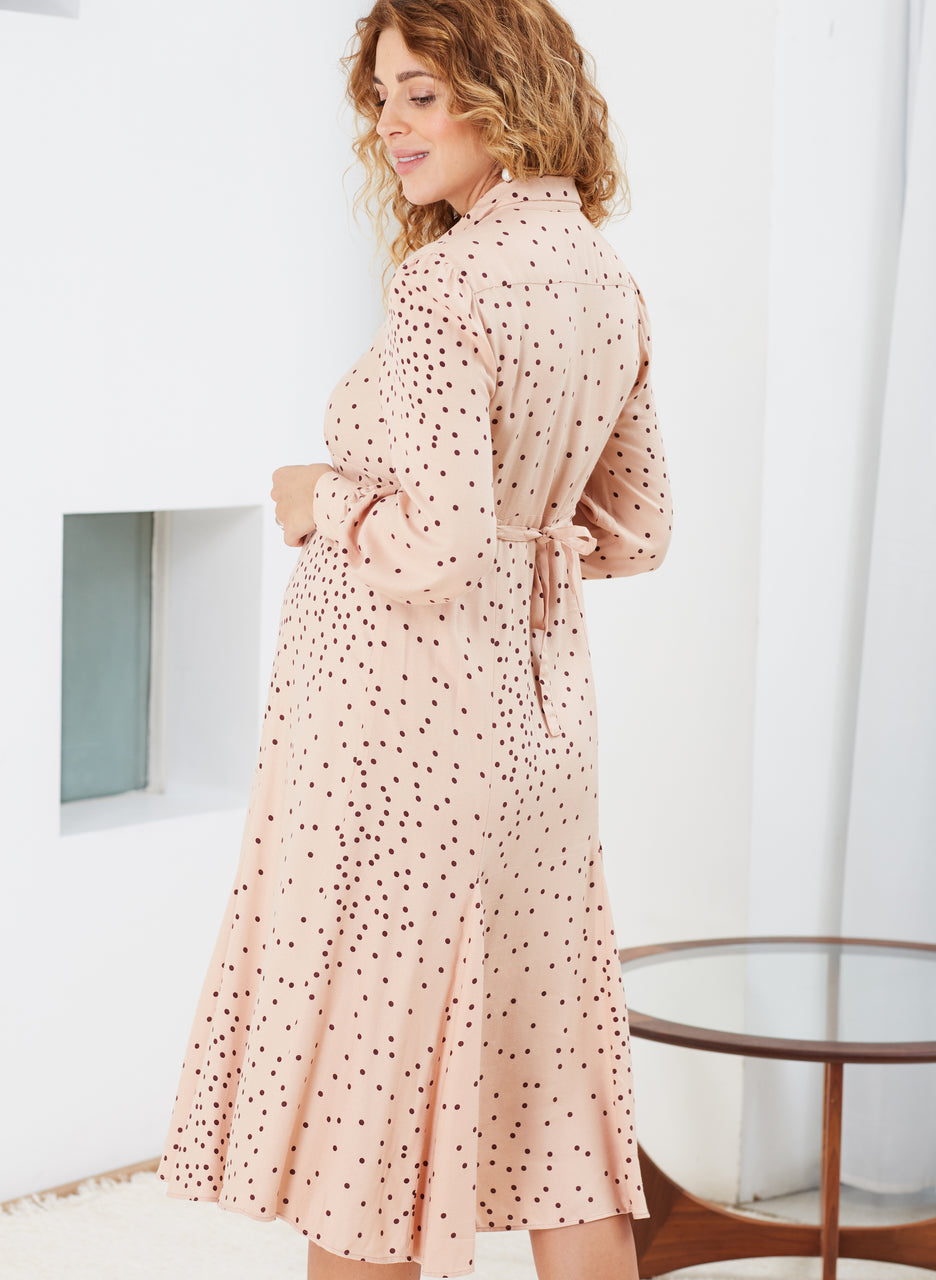 Juniper Maternity Shirt Dress