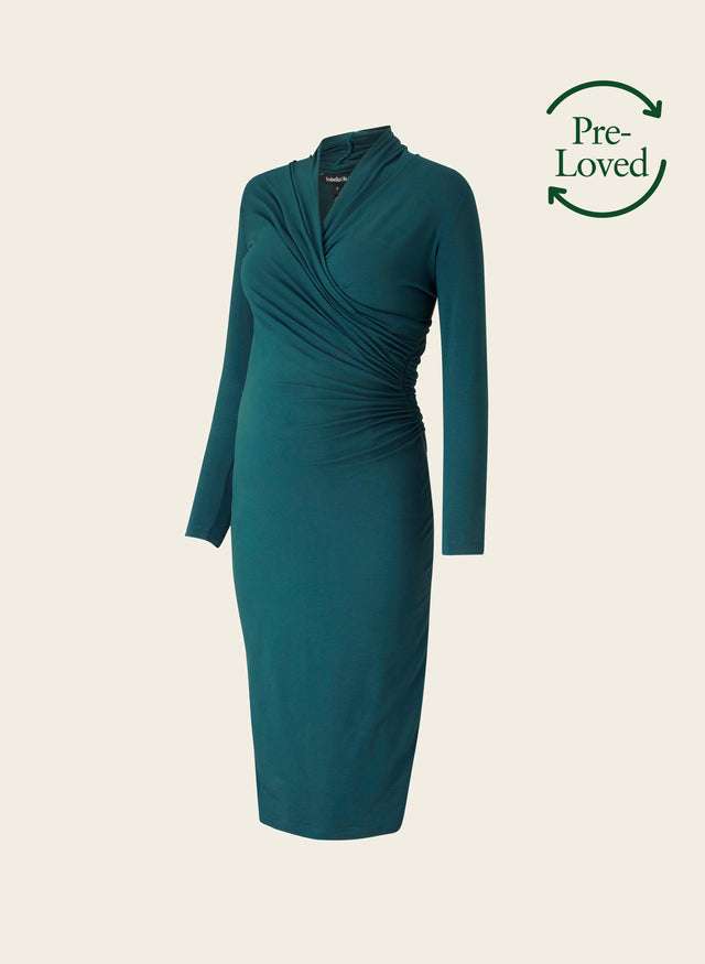 Pre-Loved Balcombe Maternity Dress by Isabella Oliver
