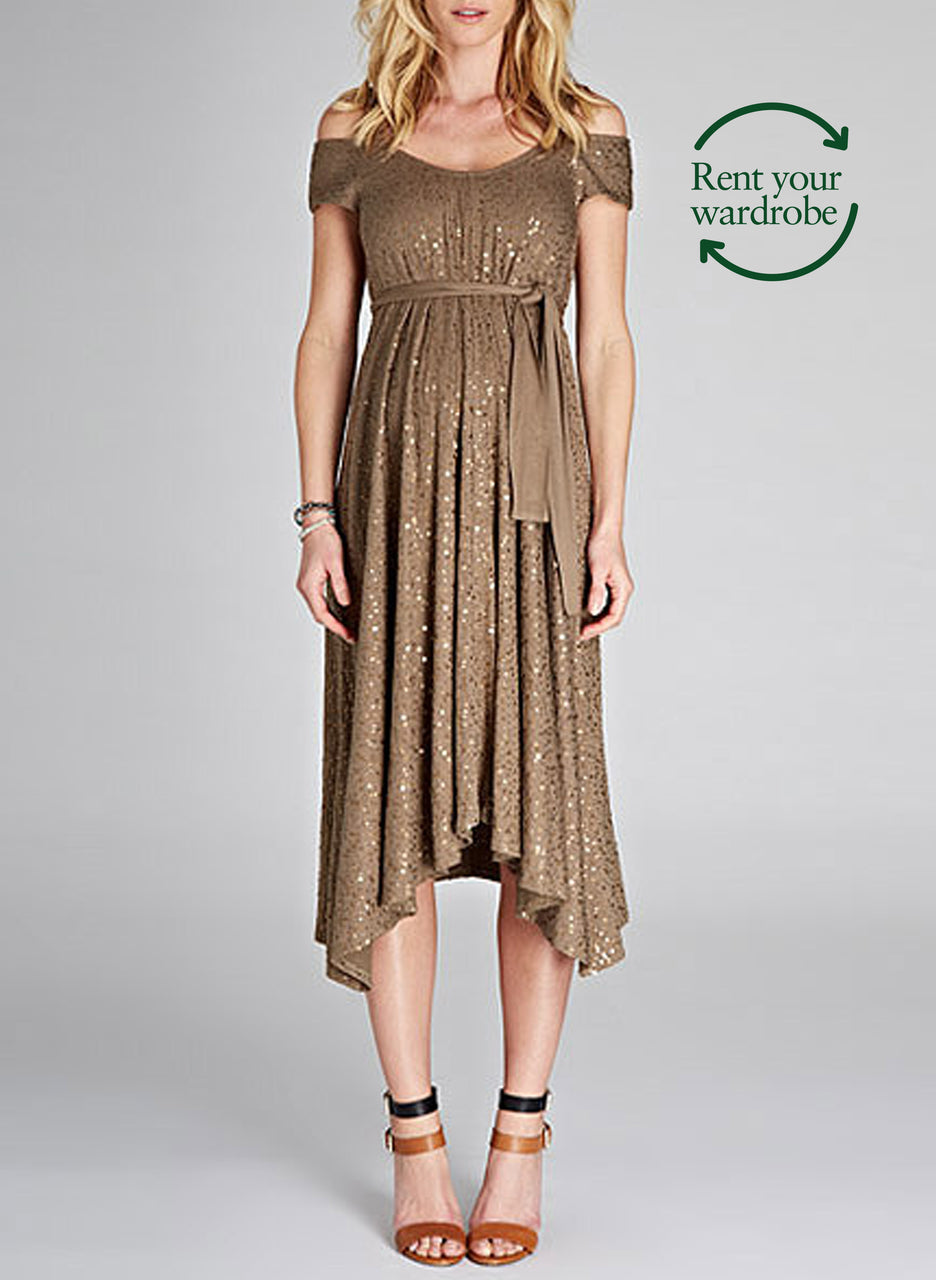 Marie Sequin Dress  to Rent