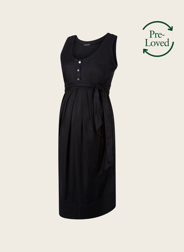 Pre-Loved Pianna Maternity Summer Dress by Isabella Oliver