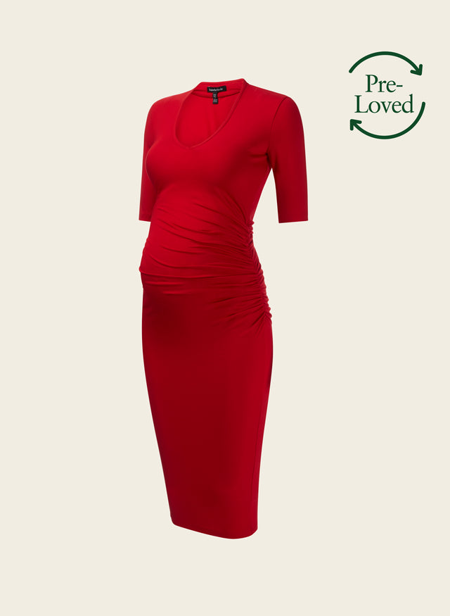 Pre-Loved Arran Maternity Dress by Isabella Oliver