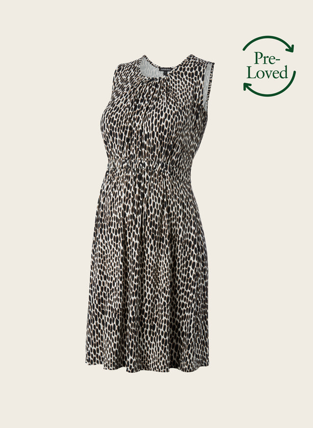 Pre-Loved Iffley Print Maternity Summer Dress by Isabella Oliver
