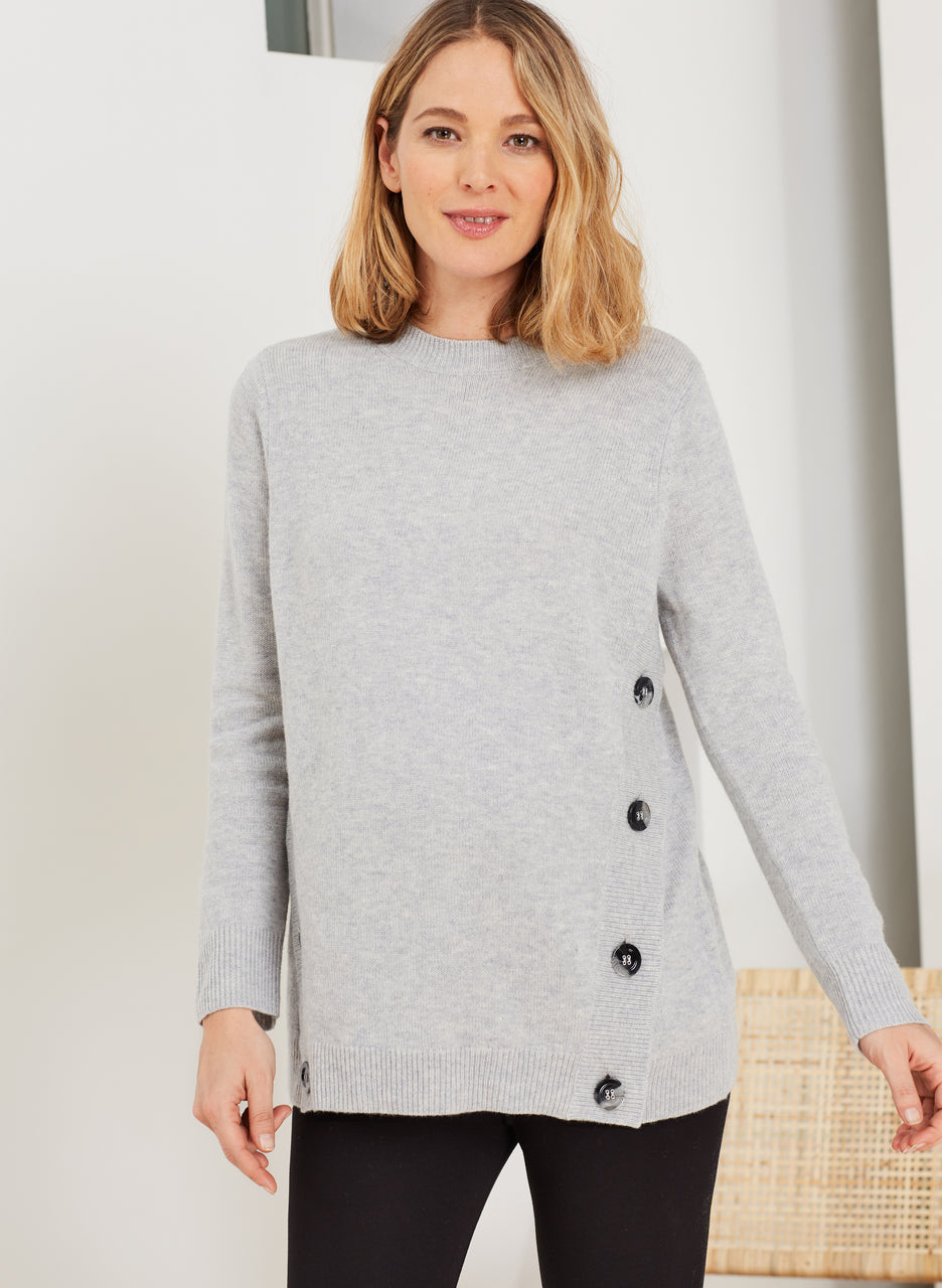 Bryony Maternity Button Knit