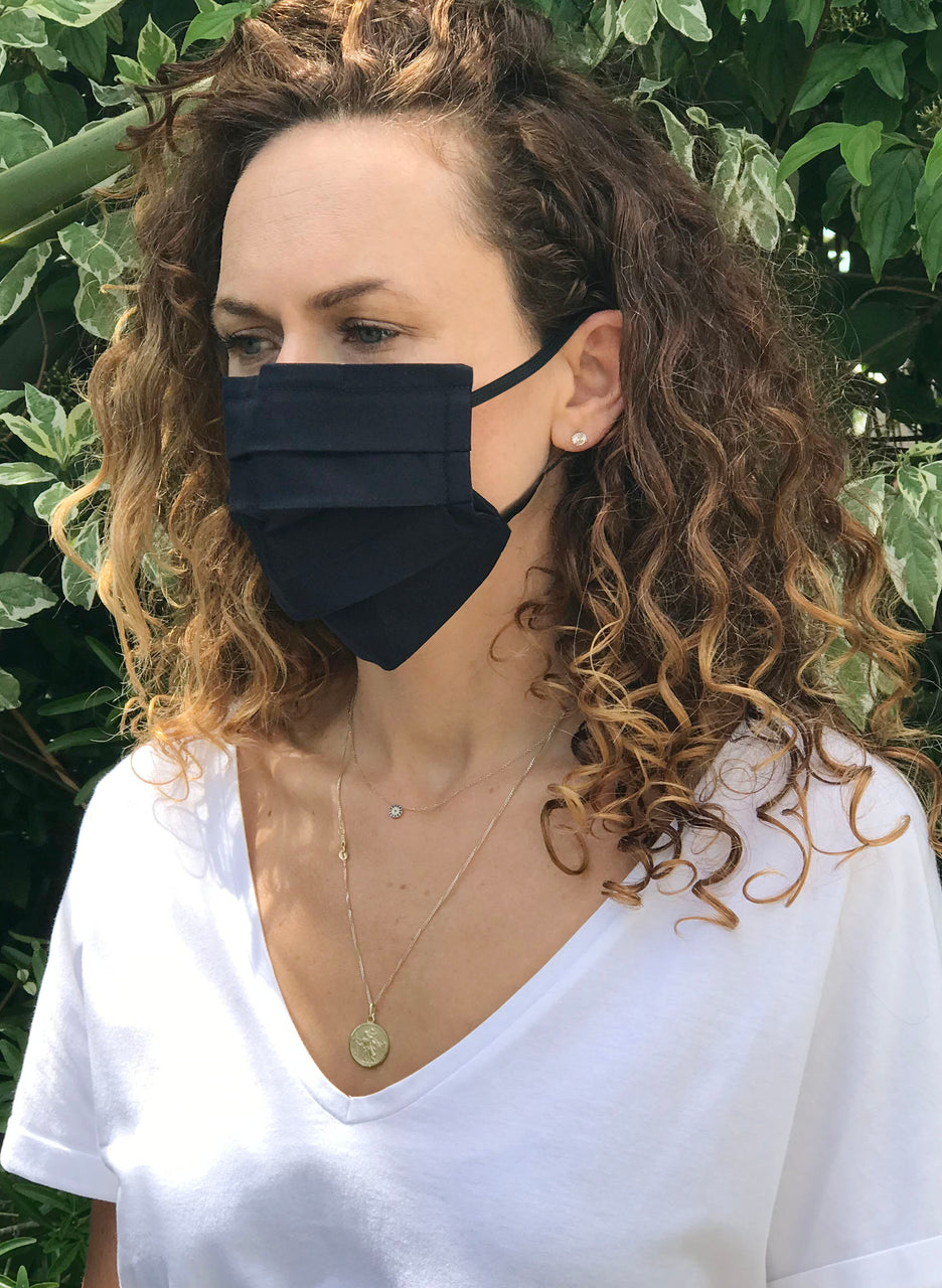 Premium Organic Cotton Face Mask - Adult and Child