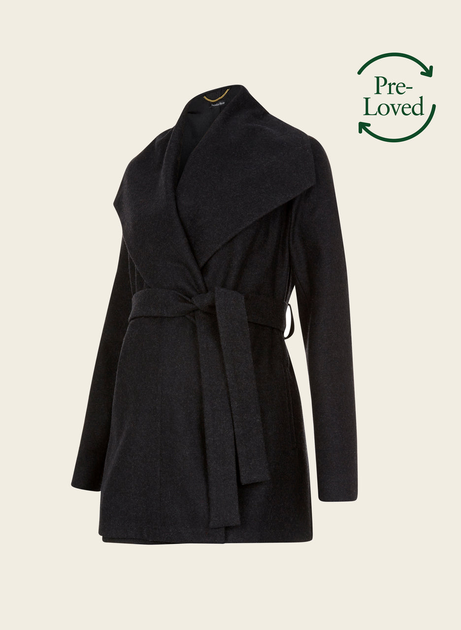 Pre-Loved Melrose Maternity Coat by Isabella Oliver