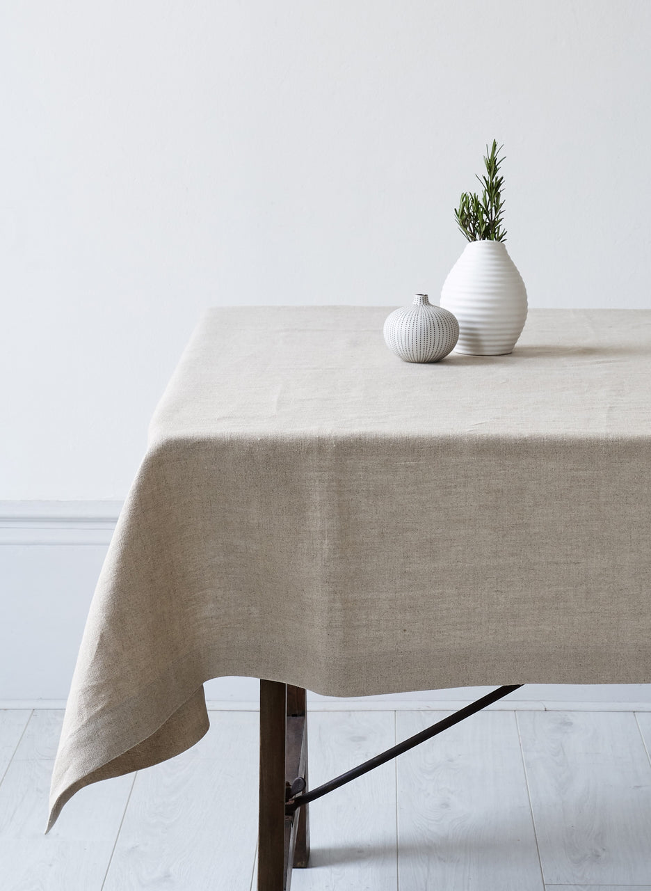 Ecosophy Organic Linen Table Cloth