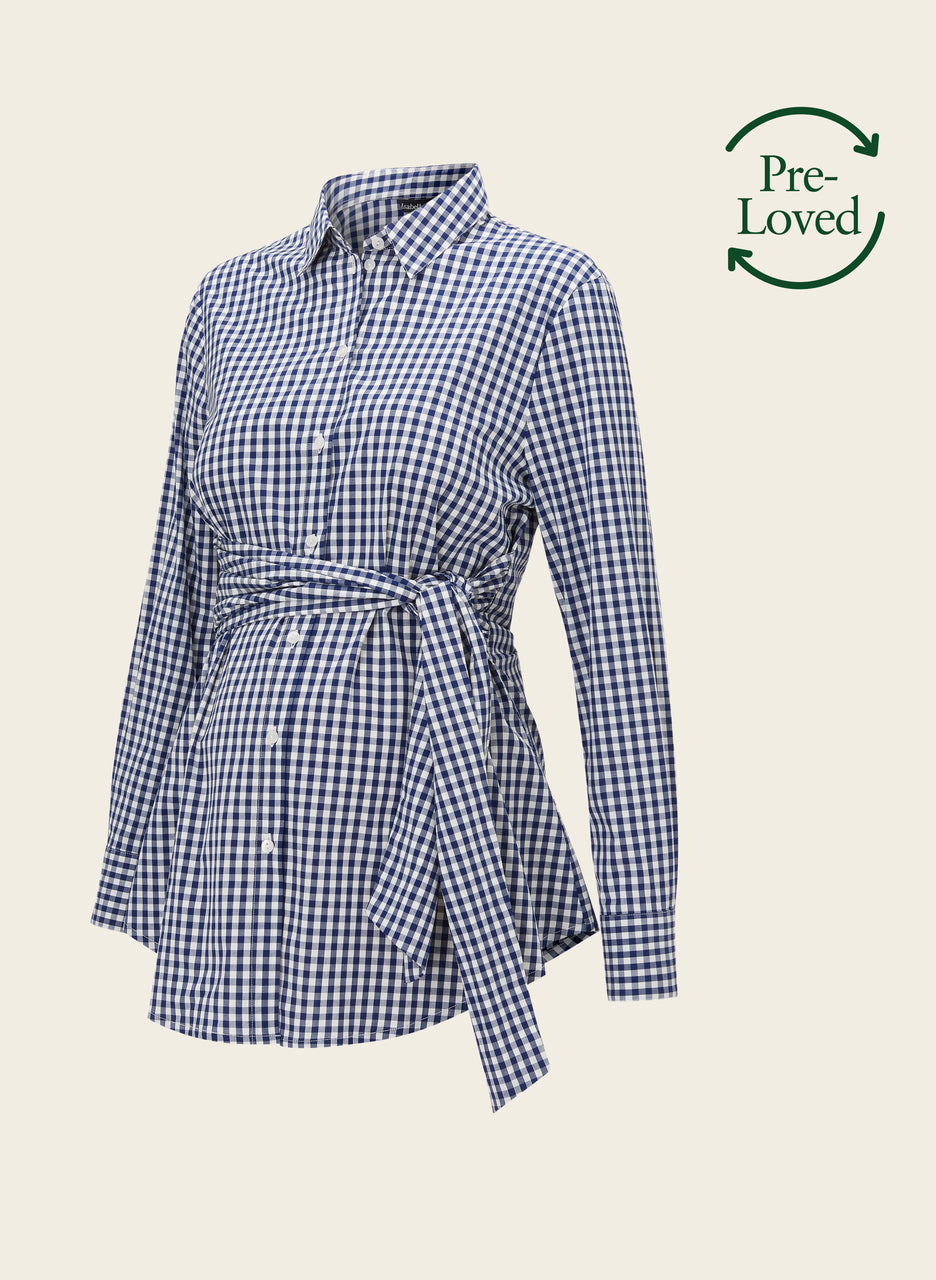 Pre-Loved Lindsay Maternity Shirt by Isabella Oliver