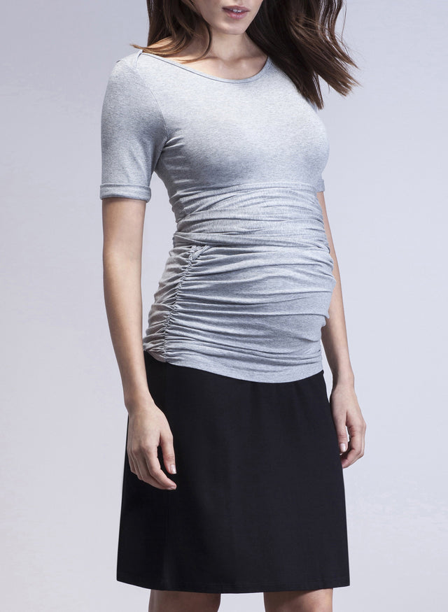 Hipster A-line Maternity Skirt