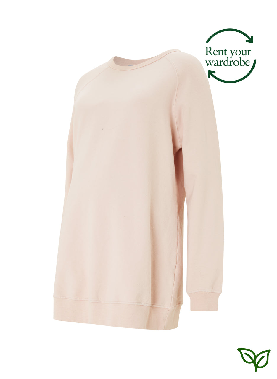 Holly Organic Maternity Sweatshirt to Rent