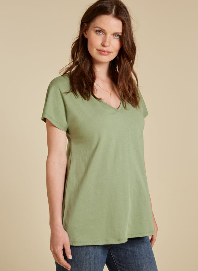 Marcia Maternity Cotton Top