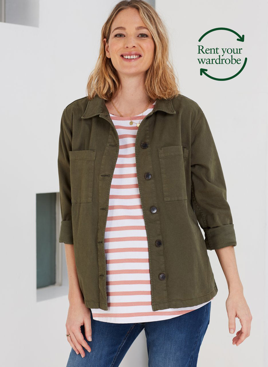 Vella Organic Maternity Top to Rent