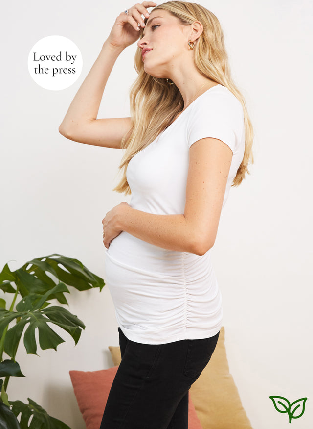 The Maternity Cap Scoop Top with LENZING™ ECOVERO™
