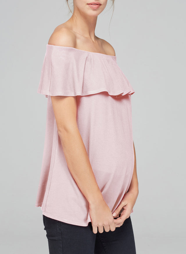 Mari Maternity Top