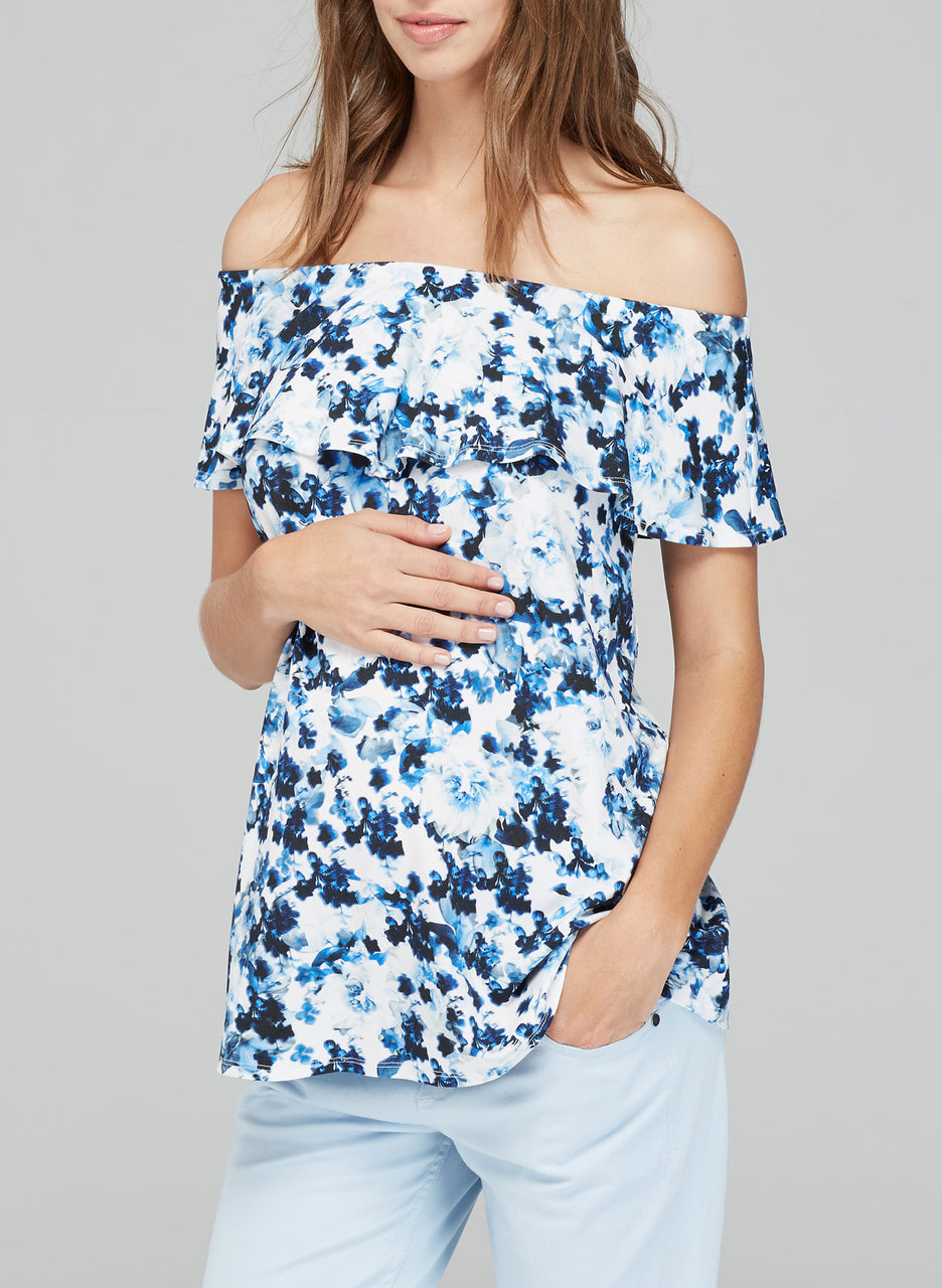 Anaise Maternity Print Top