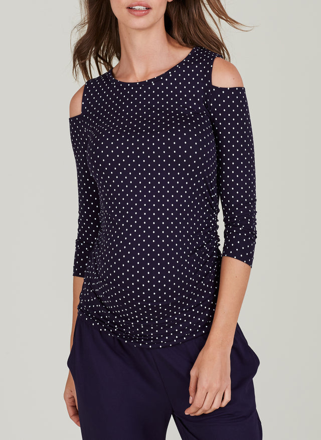 Jennifer Maternity Print Top