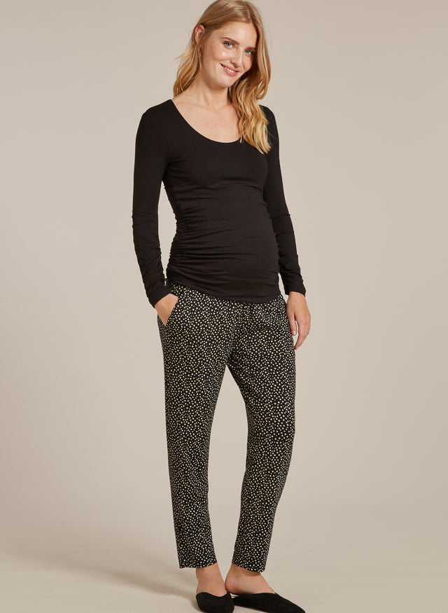 Danni Maternity Tapered Trousers