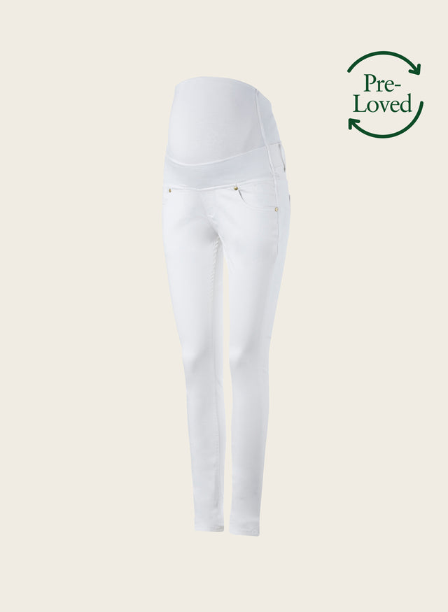 Pre-Loved Zadie Stretch Maternity Skinny Jeans by Isabella Oliver