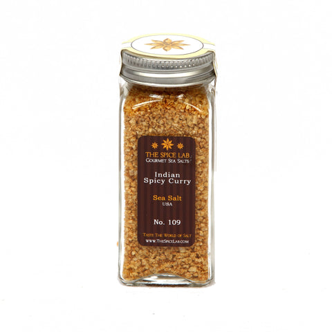 #13 Indian  Spicy Curry Infused Sea Salt