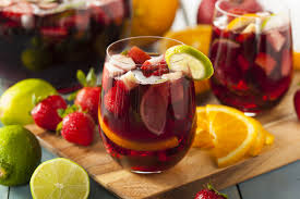 Balsamic- Raspberry Sangria