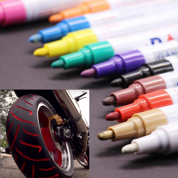 Waterproof, Non-Fading Tire Paint Pen