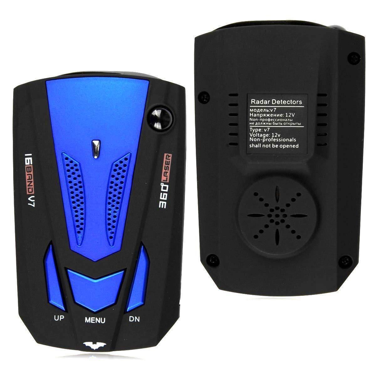 Radar Detector - ( 360 Degree Detection and Bright LED Display )