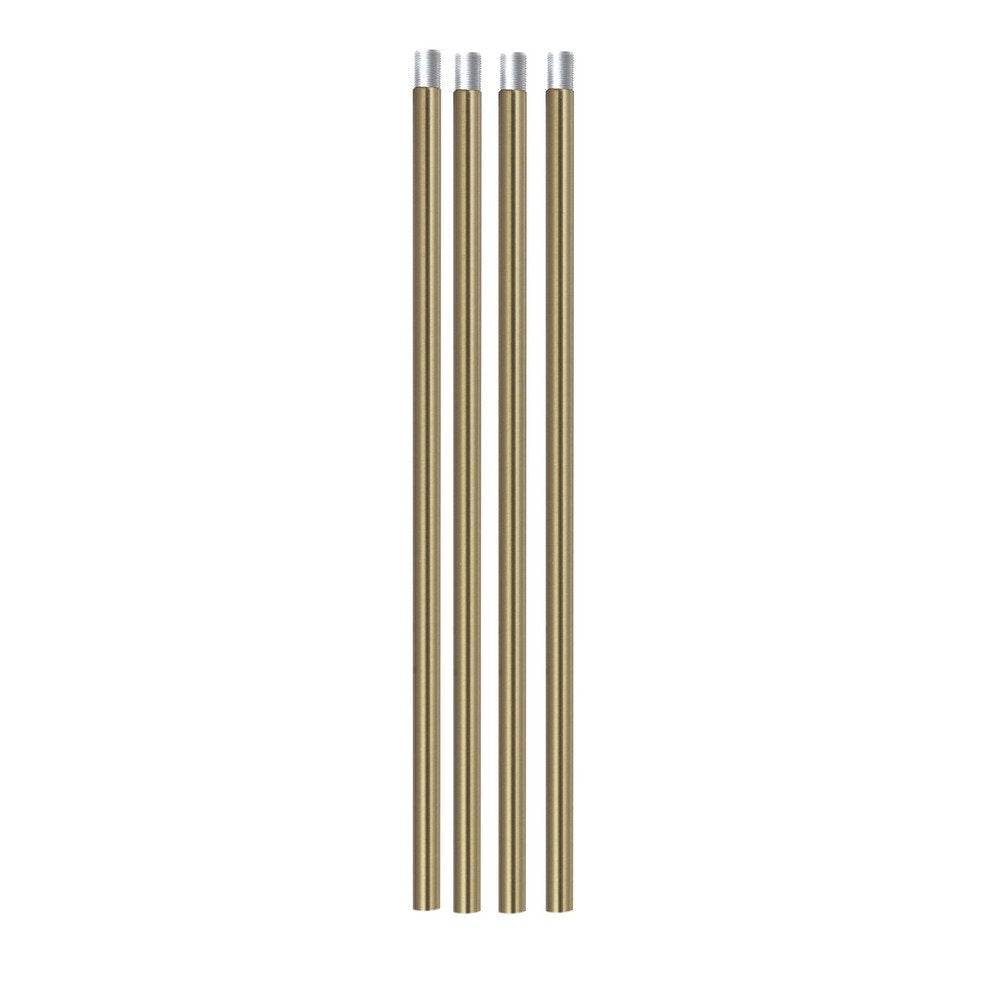 Rods for VINLUZ Brushed Brass Chandelier Lighting Included 4 Rods