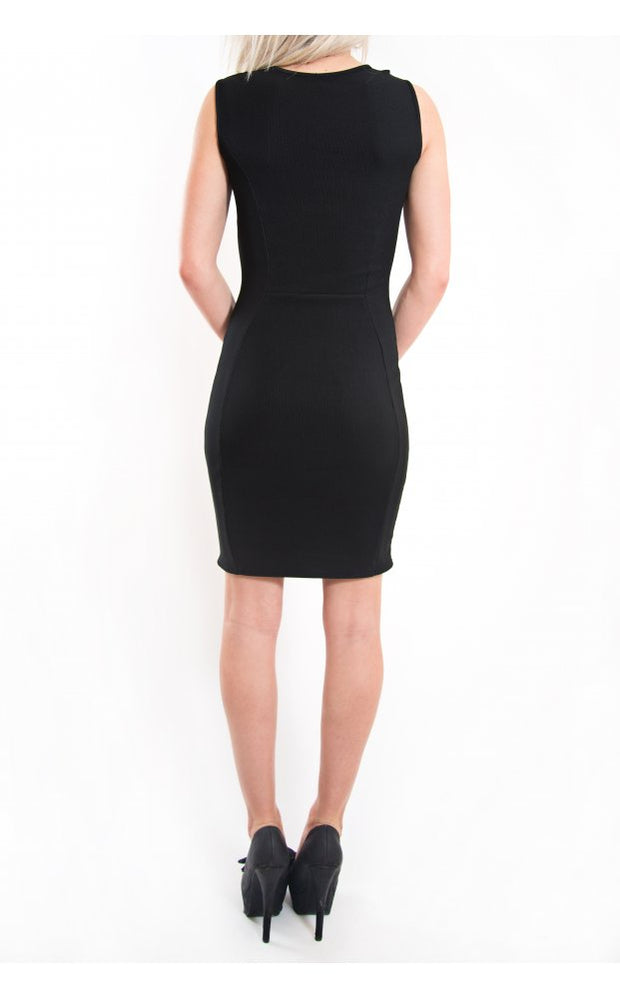Sweet Escape Cut Out Bodycon Dress In Black