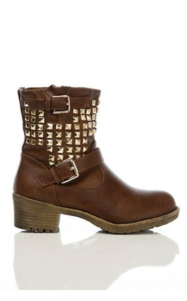 Avici Limited Edition Studded Ankle Boots