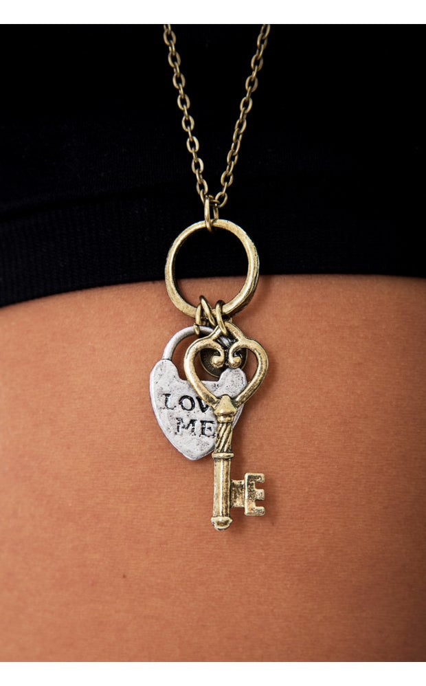 LOVE ME Charm Necklace