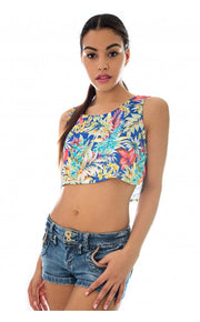 Bloom Break Crop Top