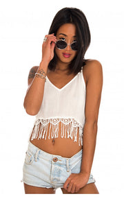 Summer Fun Crochet Crop Top