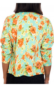Dream Flower Floral Waterfall Jacket
