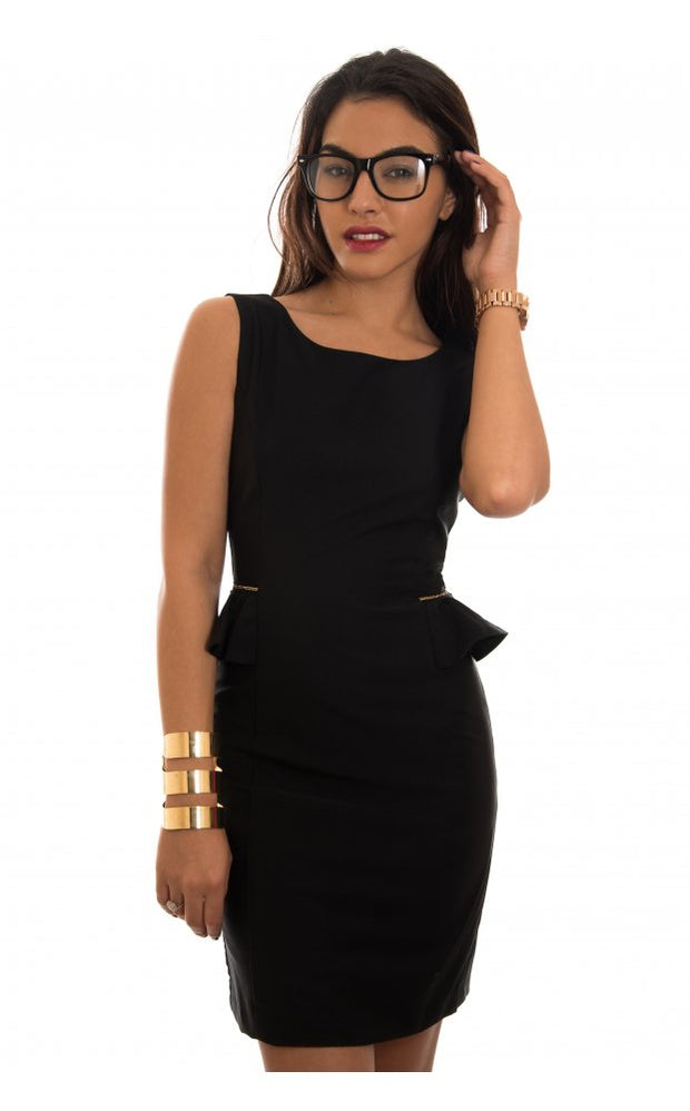 Serendipidy Black Dress