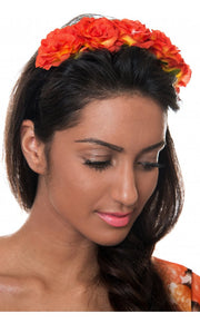 Red Melba Floral Headband