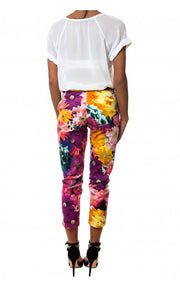 Flower Riot Picker Jeans in Pink