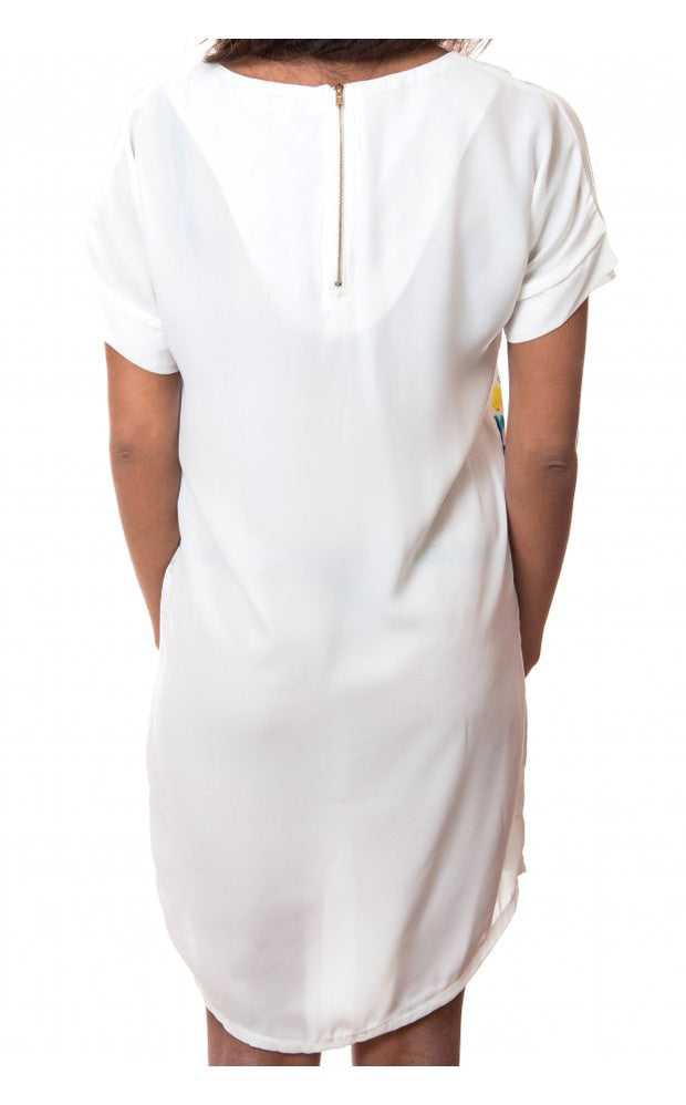 Paradise White Shift Dress