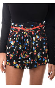 Brixton Nights Chiffon Floral Shorts