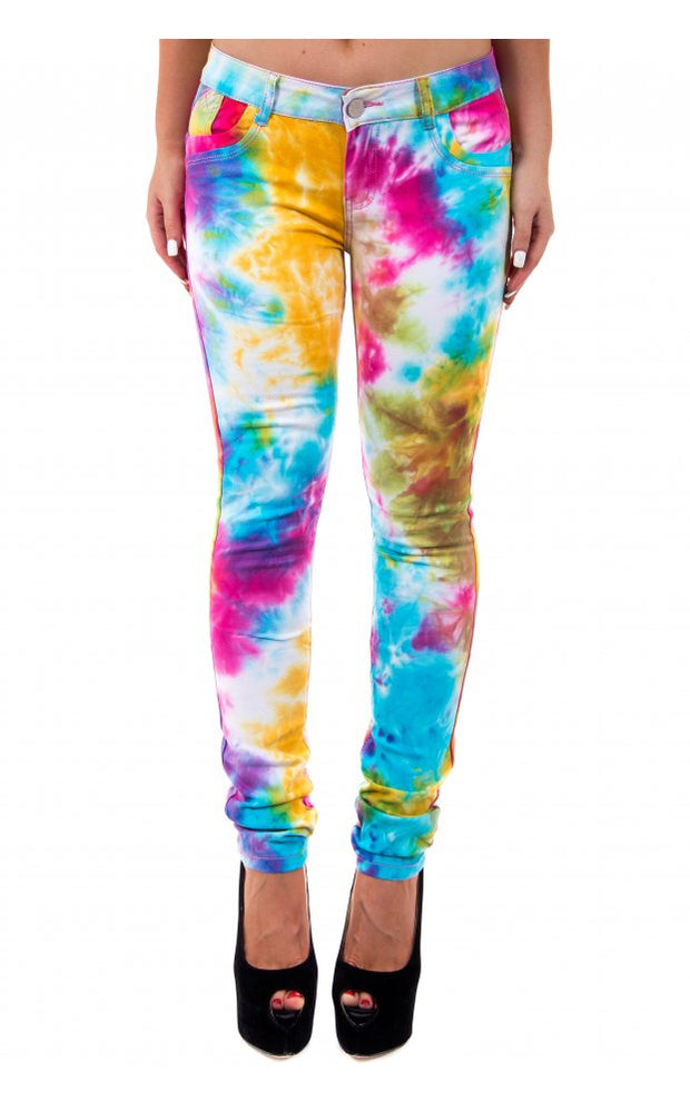 Limited Edition Tie Dye Soft Touch Jeans