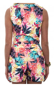 Limited Edition Palm Print Playsuit