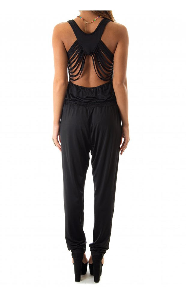 Limited Edition Cross Back Jumpsuit