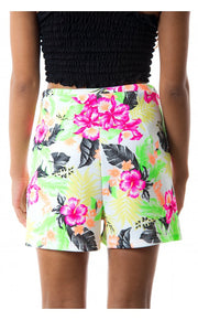 Rimini Tropical Print Shorts