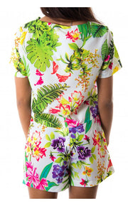 Bora Bora Tropical Boxy Top & Shorts