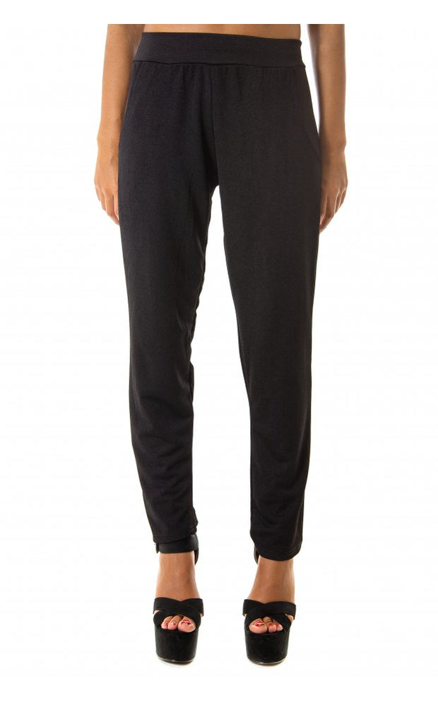 Tira Black Cigarette Trousers