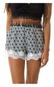 Fairytale Lace Trim Shorts