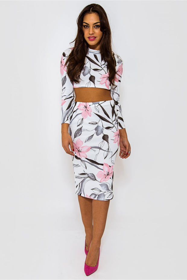 Blossom Pink Floral Co-Ord