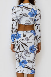 Blossom Blue Floral Co-Ord