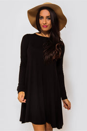 Jenny Black Swing Dress Plus Sizes Available