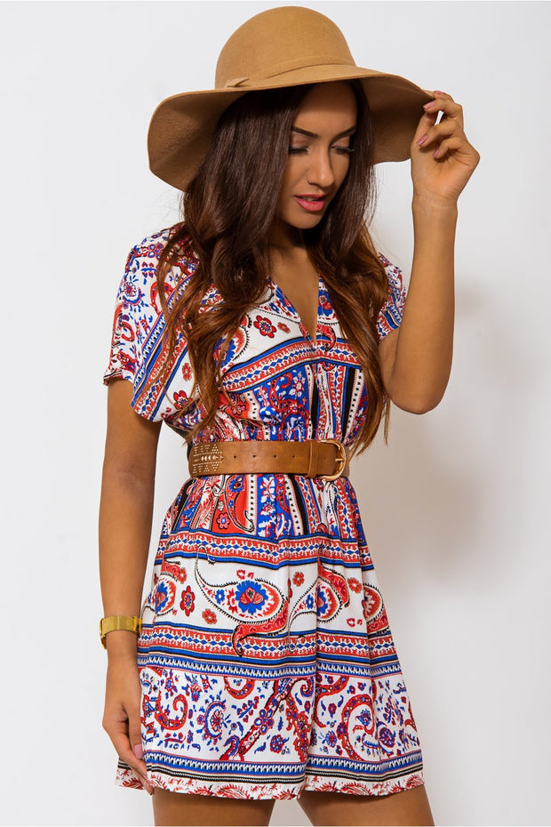 Ltd Edition Vintage Bohemian Mini Dress