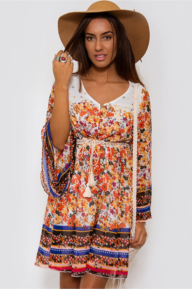 Coachella Boho Shift Dress