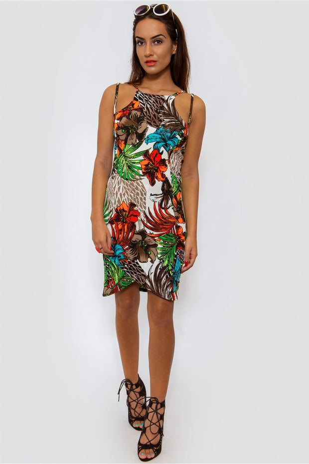 Hoola Tropical Bodycon Dress